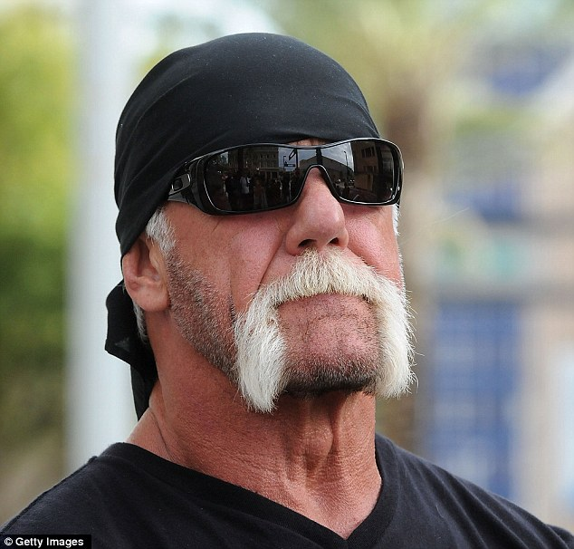 Sex Scandal: Terry Bollea aka Hulk Hogan attends a press conference to discuss legal action regarding a sex tape featuring him being brought on his behalf October 15, 2012 in Tampa, Florida