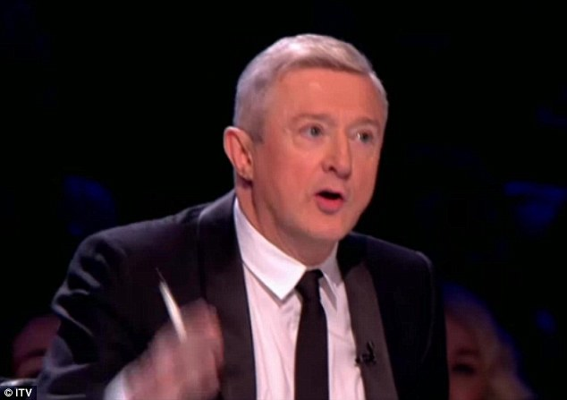 'Mrs WAG': Louis Walsh called Tulisa on her relationship with Danny Simpson during the live show