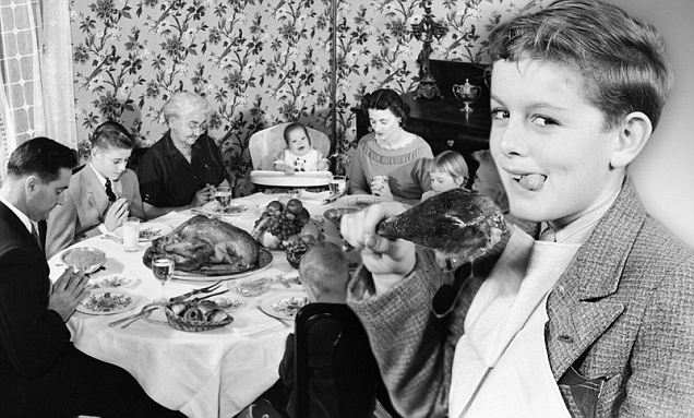 Giving thanks: Families all across the country are gearing up for turkey day which has been celebrated on the final Thursday in November since the 19th century