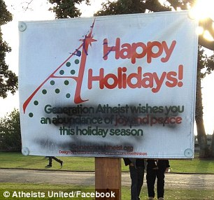 Atheists Protest Of Holiday Decorations Forces Santa