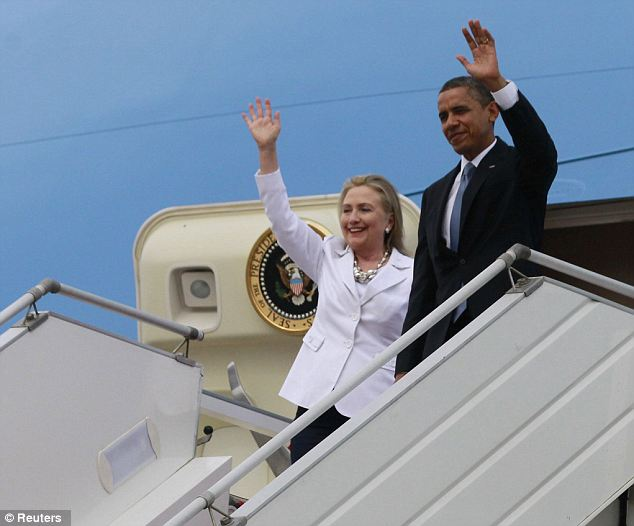 Putting the past behind: Obama is the first American president to visit the country because of it's turbulent history