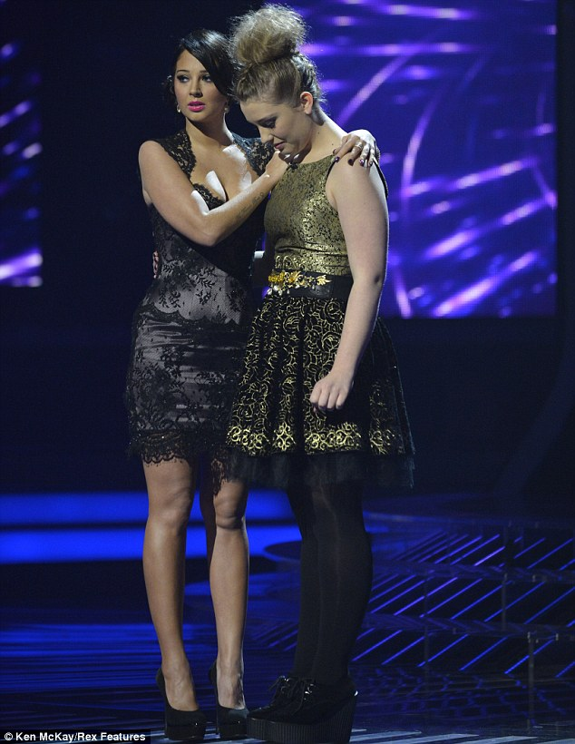 A true professional: Ella, 16, took her exit from the competition graciously