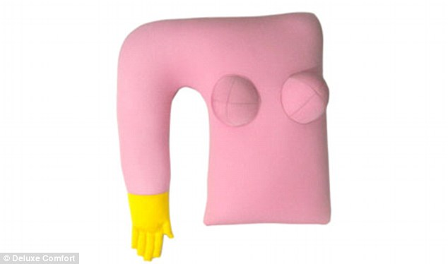 Take a look at my girlfriend:  The Deluxe Comfort Girlfriend Pillow