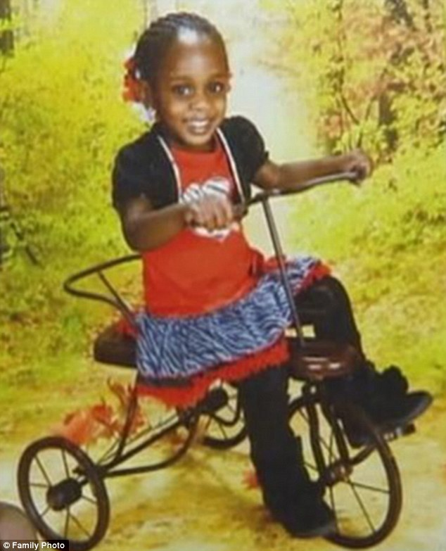 Found dead: Sasha Lamaya Ray, 2, suffered fatal injuries at her home in Decatur, near Atlanta. Her 13-year-old stepsister, who was babysitting, will be charged with her death