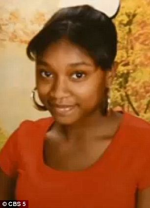 Murderer: Tyasia Jackson was charged with killing her step sister after getting mad at her