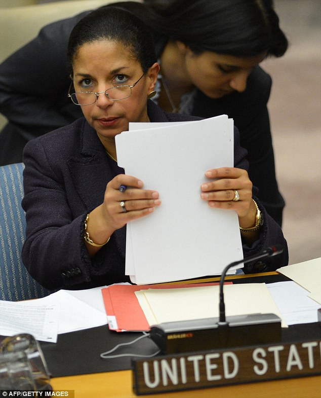 Self-defense: U.S. Ambassador to the United Nations Susan Rice defended on Wednesday her remarks after a terrorist attack against the U.S. Consulate in Benghazi