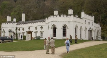 Garech, Tara's brother, has decided to give a blessing to a book which celebrates the memories of wealth and eccentricity associated with Luggala (pictured), the house where they grew up