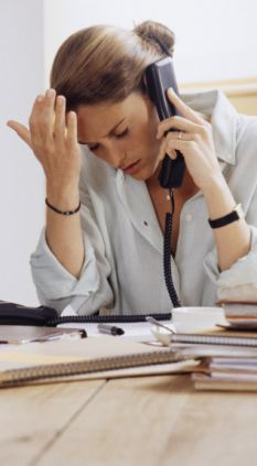 People who feel out of control at work are also more likely to develop heart disease