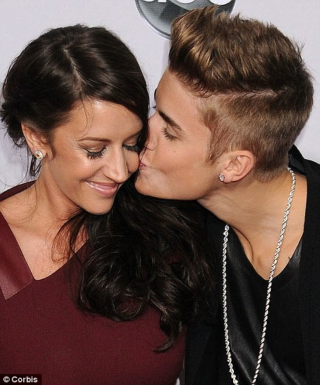 Kiss and tell: Justin's mother Pattie Mallette tells all in her new memoirs