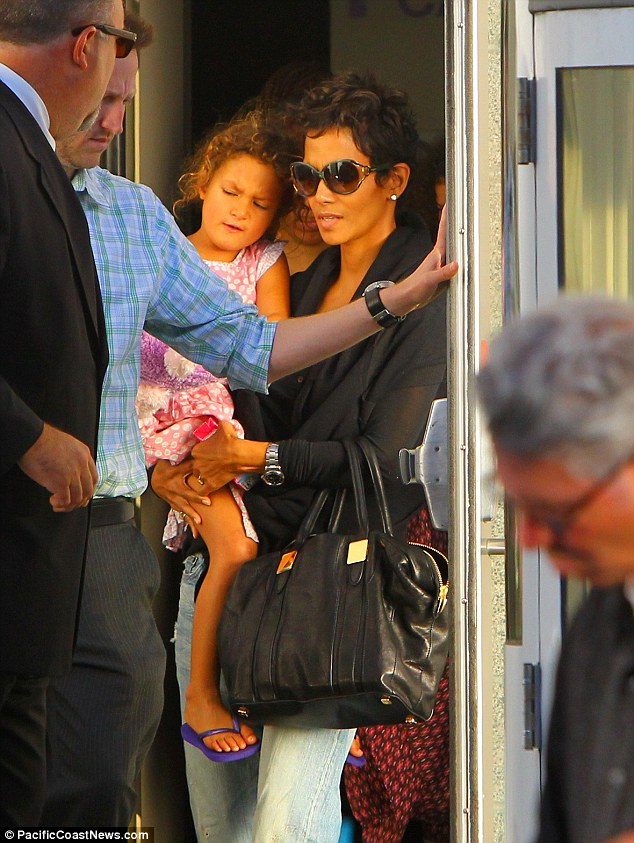 Protection: Halle Berry wants to get a permanent restraining order against her ex Gabriel Aubry after he got into a fist fight with her current fiance Olivier Martinez on Thanksgiving