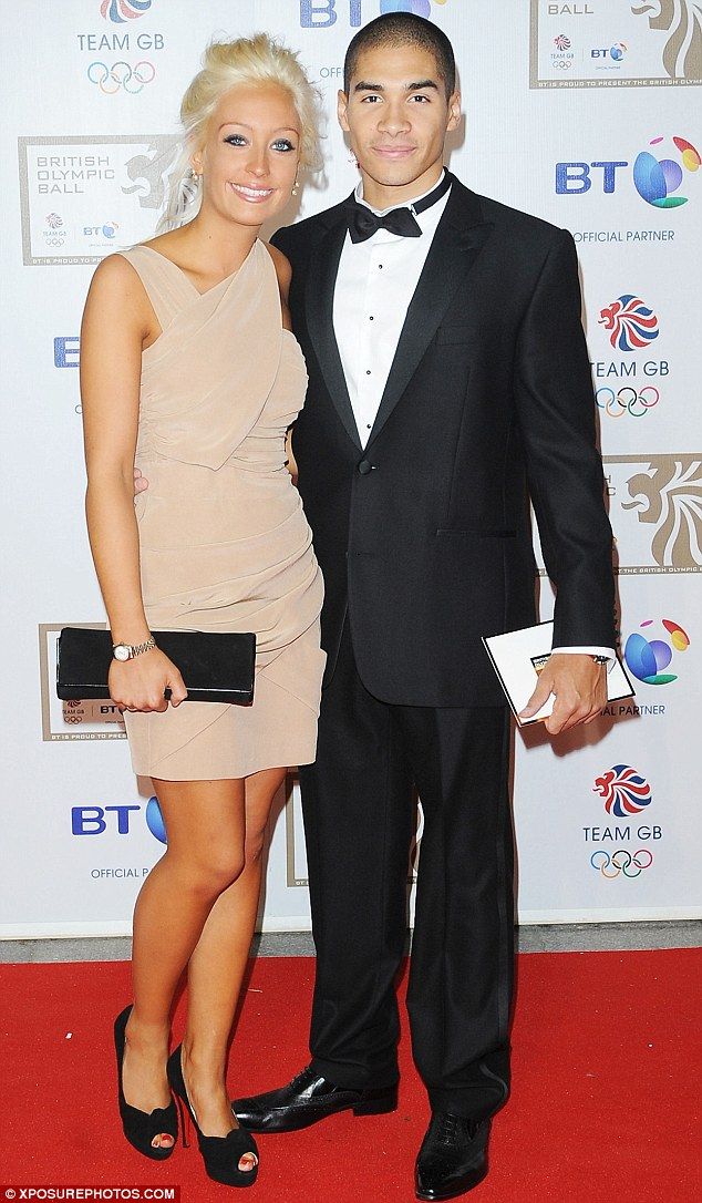 'He left me': Ex Billie Whyatt, pictured here with Louis Smith in 2010, revealed he was the one to leave