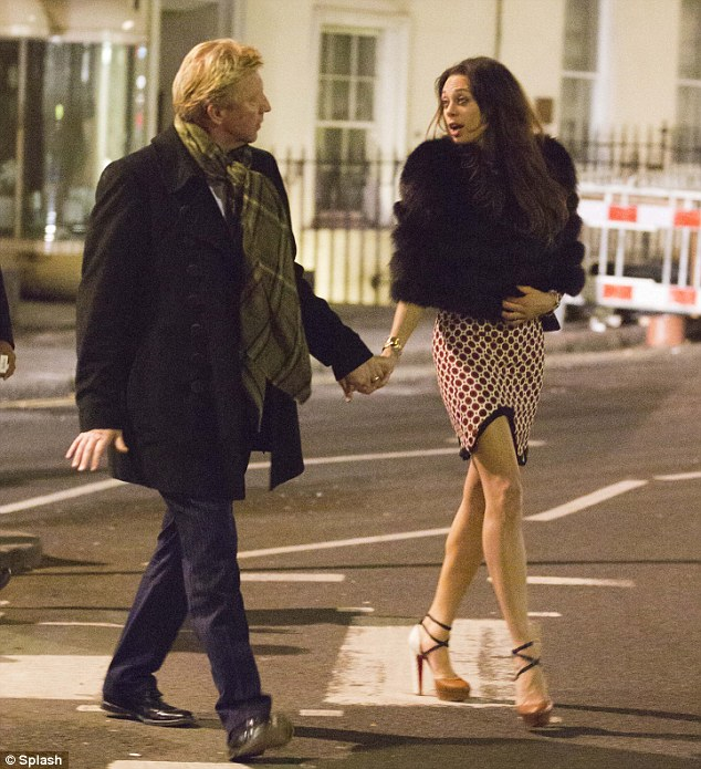Party boy: Boris and his group of friends stay out until 3am at Mayfair hotspot LouLou's