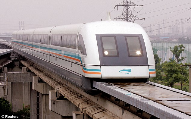 Pioneer: Shanghai's $1.33billion maglev train can hit 267mph