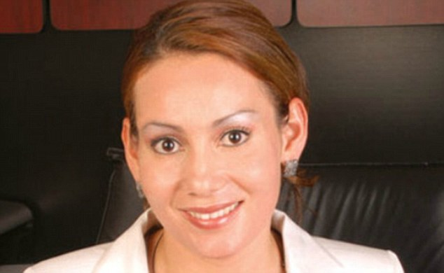 Icon: Maria was described by a prominent Mexican journalist as 'a heroine of the 21st century'