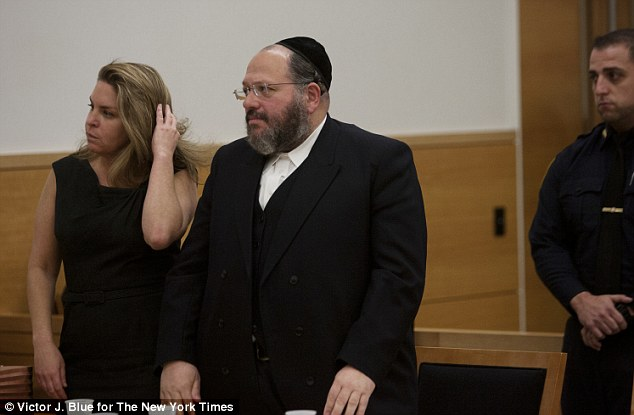 Strict: Nechemya Weberman, a rabbi in a strict ultra-orthodox Jewish sect, is charged with 88 counts of sexual abuse