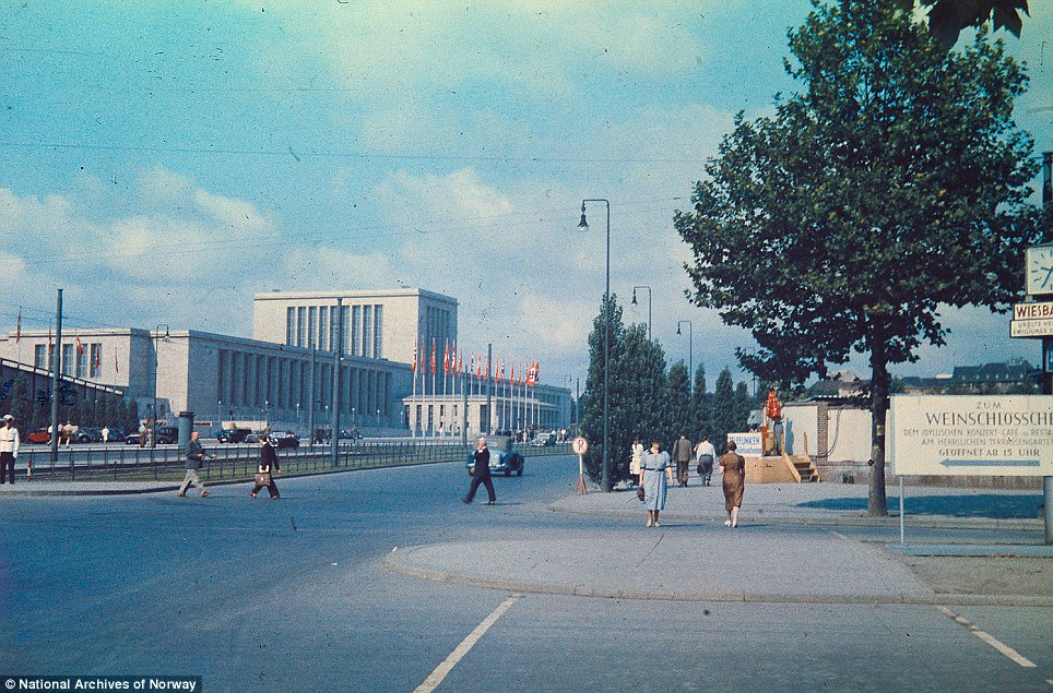 Grand: The Messe Berlin situated in Berlin-Westend. It was completed in 1937