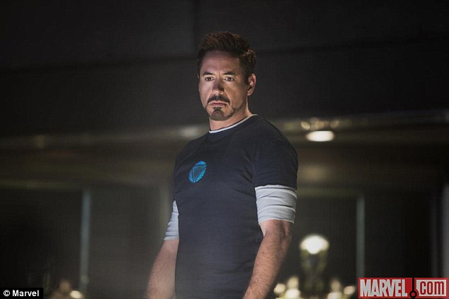 Flying in soon: Marvel have released some new images from the upcoming Iron Man 3 movie, which is released next year