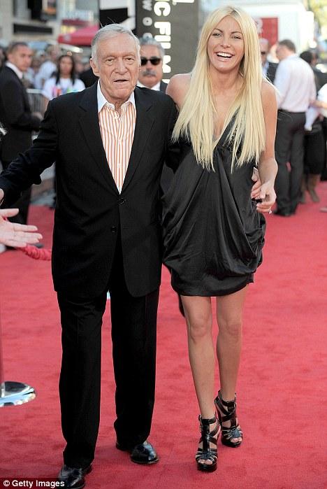 Hugh Hefner Engaged To Crystal Harris Again Hefs Wedding