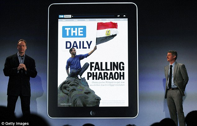 Critics said that even though it was the first iPad-only newspaper in the world, it would not work in a world where consumers expected their news on the Internet for free.