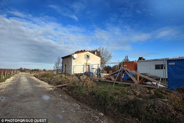 'We're in shock': The outhouse that the builders were supposed to destroy is now the only part of the once lavish property still standing