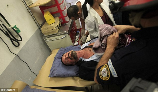 Heart attack: John McAfee was rushed to the hospital after suffering two minor heart attacks and experiencing chest pain all day