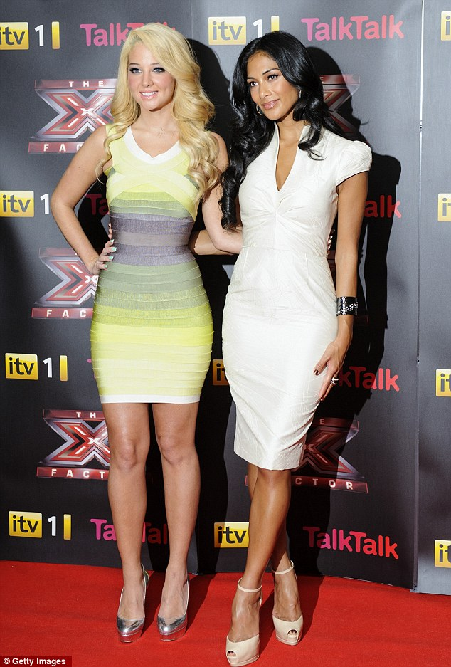 Good friends: Nicole invites Tulisa for dinner and she says Nicole isn't the diva made her out to be