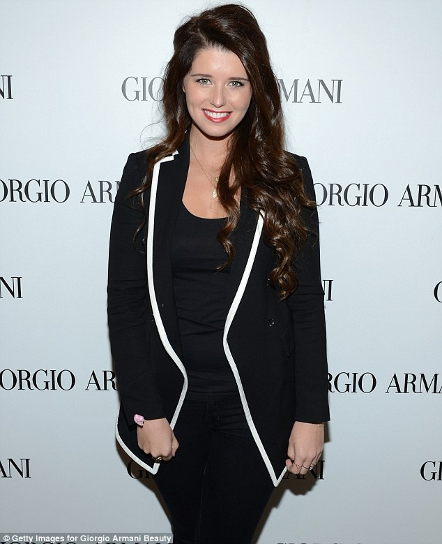 All in the genes: Katherine Schwarzenegger proved she has the Kennedy knack for classic dressing at the event