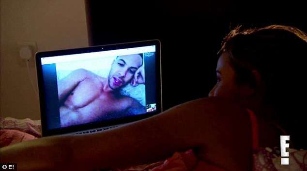 Are you naked? Rochelle keeps the romance alive with her husband Marvin over Skype