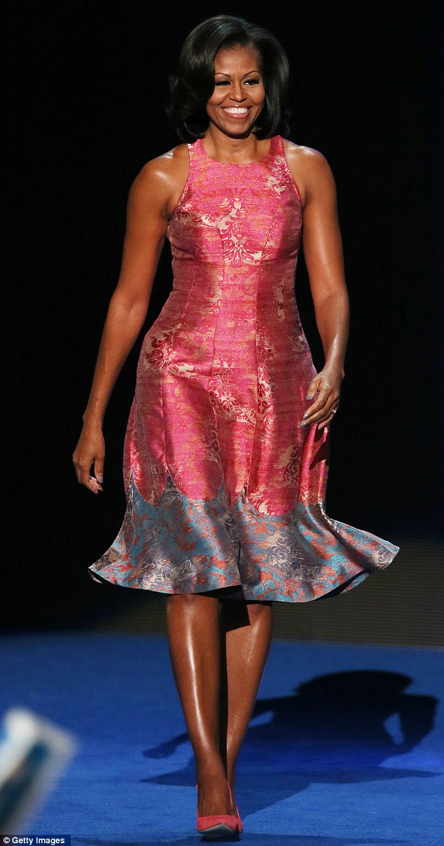 The proposed appointment is backed by First Lady Michelle Obama, pictured at the Democratic National Convention in the U.S., who was featured on the front cover of Vogue in 2009