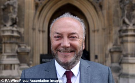 Discriminates: Respect MP George Galloway has attacked new curbs on Muslim veils in the Commons