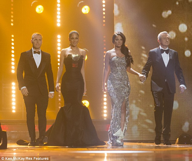 Saving the best until last: Both Nicole and Tulisa saved their best ensembles until the final X Factor fashion battle on Sunday night