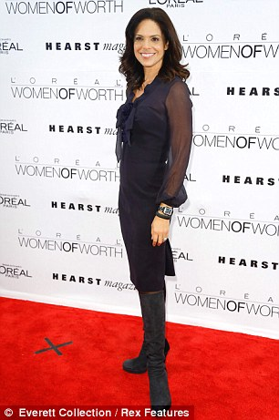 Soledad O'Brien L'Oreal Paris 7th Annual Women of Worth Awards, New York, America - 06 Dec 2012