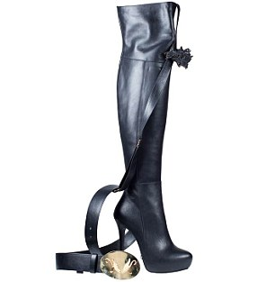 Limited edition: The boots costs £1,635