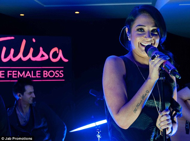 Not a great start: Tulisa was expecting much better album sales off the back of her role on the X Factor