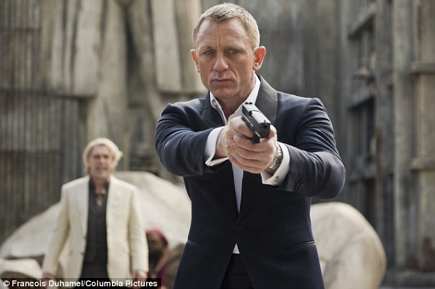 Skyfall: The latest James Bond flick earned a magic seven nominations including nods for Javier Bardem (Supporting Actor) and Judi Dench (Supporting Actress)