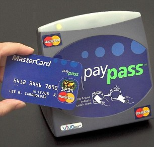 Boarding pass: The buses will be quipped with MasterCard's PayPass system