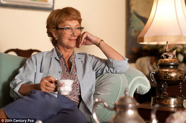 Thriller: Helen Mirren, as Alma Reville in Hitchcok, for which she received a best actress in a drama nomination