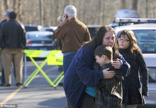 A shooter opened fire at the elementary school shooting at least 20 people - more than a dozen children are believed to be dead