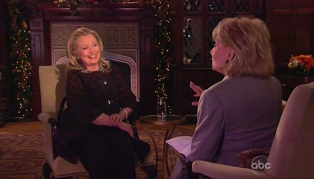 'Stamina:' At 65 years old, Clinton bragged to Barbara Walters just days before fainting that she is healthy and has plenty of energy and stamina