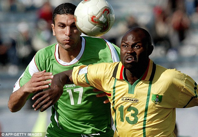 Tragedy: Adam Ndlovu - who played for Zimbabwe - died in the car crash