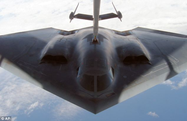 A U.S. Air Force B-2A stealth bomber: Researchers have managed to develop a new kind of radar that is able to see through the counter-measures deployed as a ruse to fool anti-aircraft systems