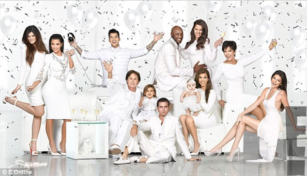 Result: The Kardashian family released this Christmas card