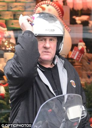 Actor Gerard Depardieu