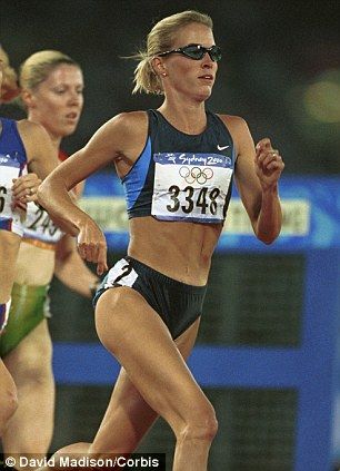Double-life: Suzy Favor-Hamilton, a U.S. Olympian, has reportedly been working as an escort for a year