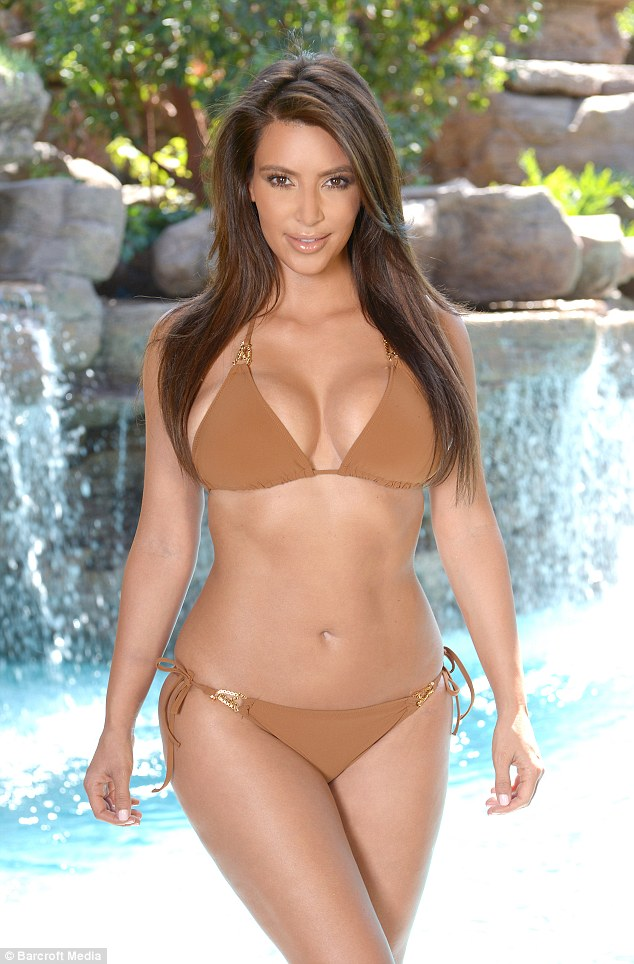 In case you forgot: Kim Kardashian reminds the world just why she's famous in a sizzling new shoot