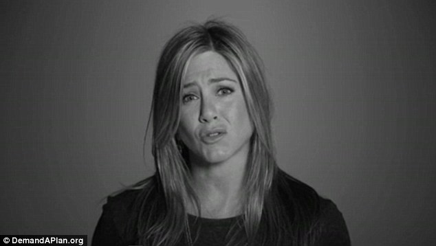 Tragedy: Jennifer Aniston recounts the tired phrase, 'If we had just done something yesterday'