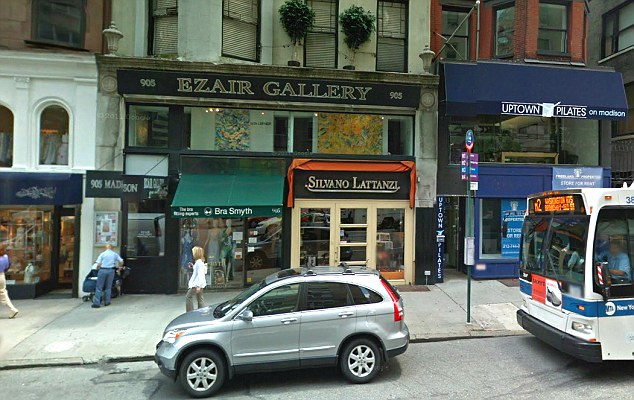Popular: Ms Bego's Ezair gallery in New York was frequented by members of high society