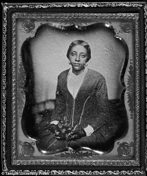 Unidentified woman, believed to be Sarah McGill Russwurm, sister of Urias A. McGill and widow of John Russwurm. 1854