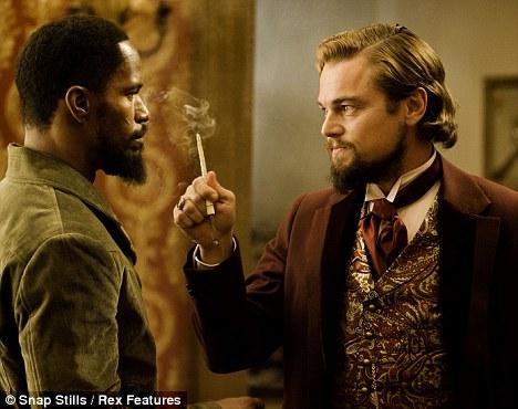 Fan favourite: Jamie Foxx and Leonardo DiCaprio in Django Unchained