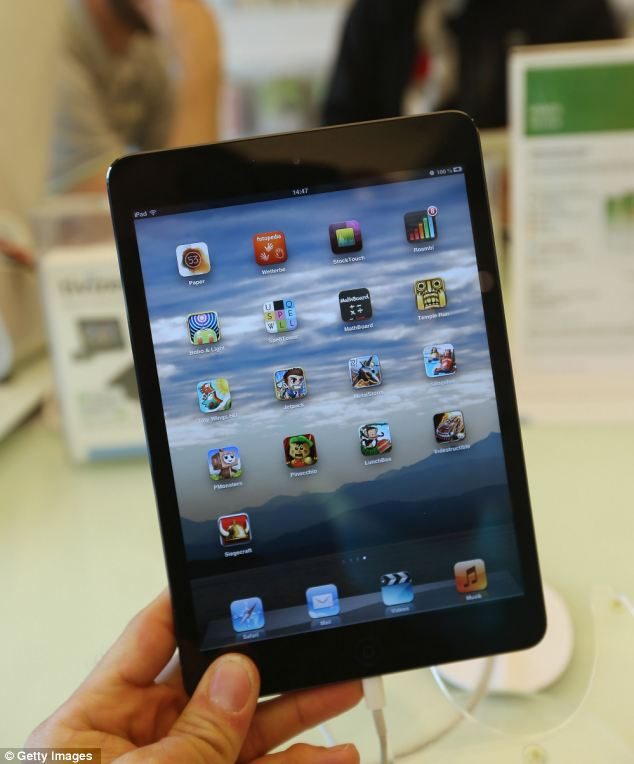 Apple recently released the Mini to compete with the growing number of small, tablet computers